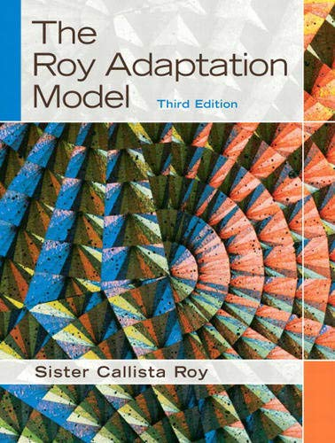 9780130384973: The Roy Adaptation Model (3rd Edition)