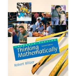 9780130385666: Thinking Mathematically