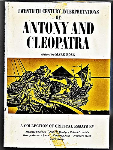 9780130386120: Twentieth century interpretations of Antony and Cleopatra: A collection of critical essays