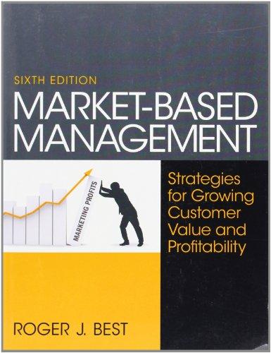 9780130387752: Market-Based Management