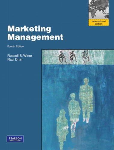 9780130387929: Marketing Management