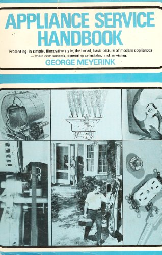 9780130388445: Appliance service handbook