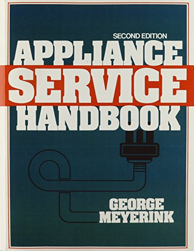 9780130389022: Appliance Service Handbook (2nd Edition)