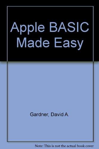 9780130389107: Apple BASIC made easy