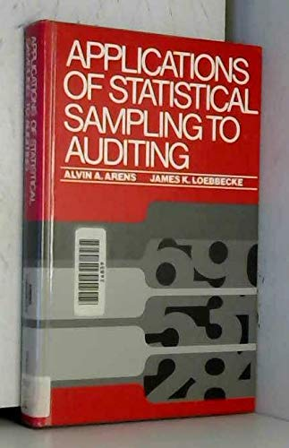 9780130391568: Applications of Statistical Sampling to Auditing