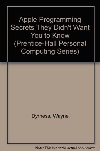 9780130392152: Apple Programming Secrets
