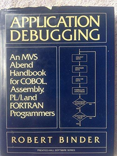 Prentice-Hall Software: Application Debugging : An MVS: Robert Binder