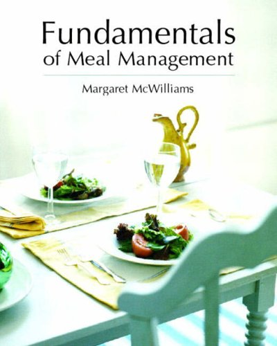 9780130394804: Fundamentals of Meal Management