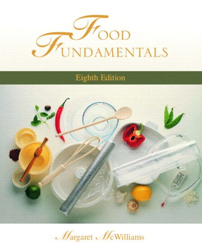 9780130394866: Food Fundamentals (8th Edition)