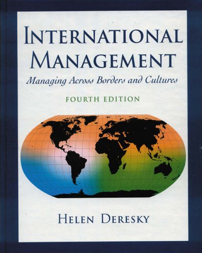 9780130395566: International Management: Managing Across Borders and Cultures (International Edition)