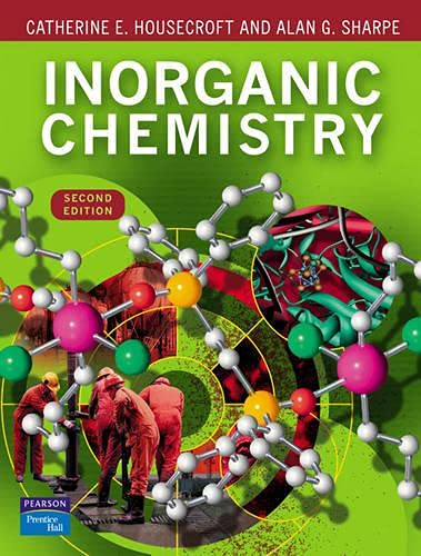 9780130399137: Inorganic Chemistry (2nd Edition)