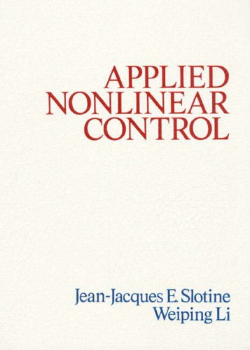 9780130400499: Applied Nonlinear Control: International Edition
