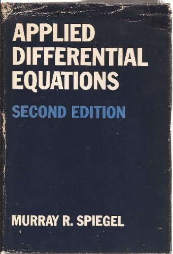 9780130400895: Applied Differential Equations