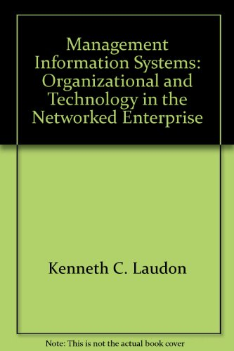 Management Information Systems: Organizational and Technology in: Laudon, Kenneth C.;