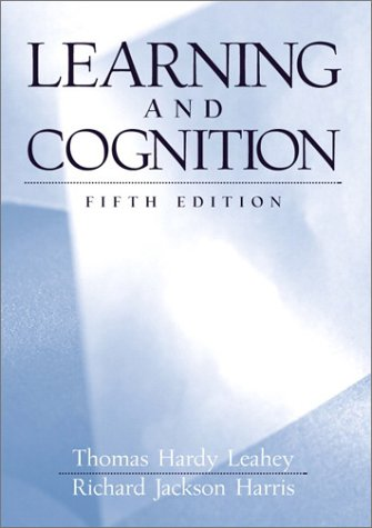 9780130401991: Learning and Cognition (5th Edition)