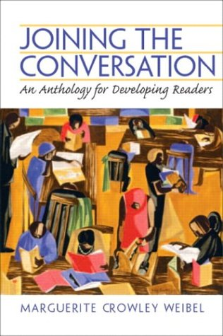 9780130402592: Joining the Conversation: An Anthology for Developing Readers