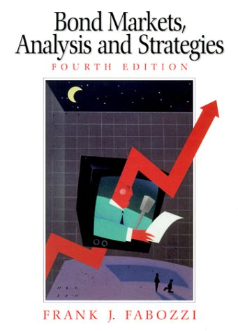 9780130402660: Bond Markets: Analysis and Strategies (4th Edition)