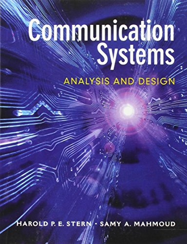 9780130402684: Communication Systems: Analysis and Design