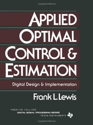 9780130403612: Applied Optimal Control (Digital Signal Processing)