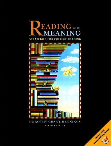 9780130404183: Reading with Meaning: Strategies for College Reading (5th Edition)