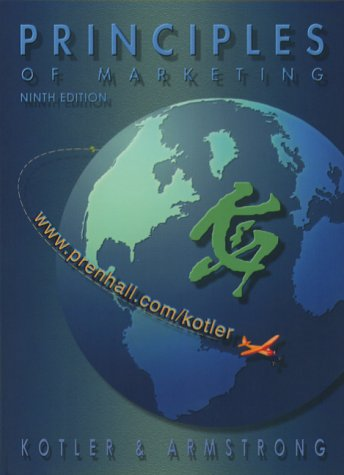 9780130404404: Principles of Marketing with CD (9th Edition)