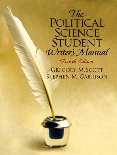 9780130404473: The Political Science Student Writers Manual
