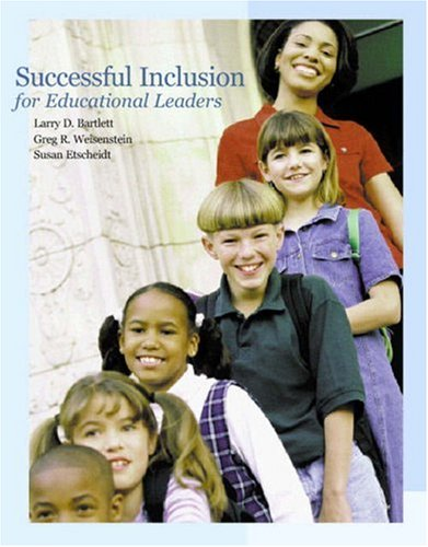 9780130404886: Successful Inclusion for Educational Leaders