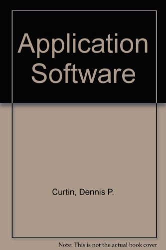 9780130405517: Application Software