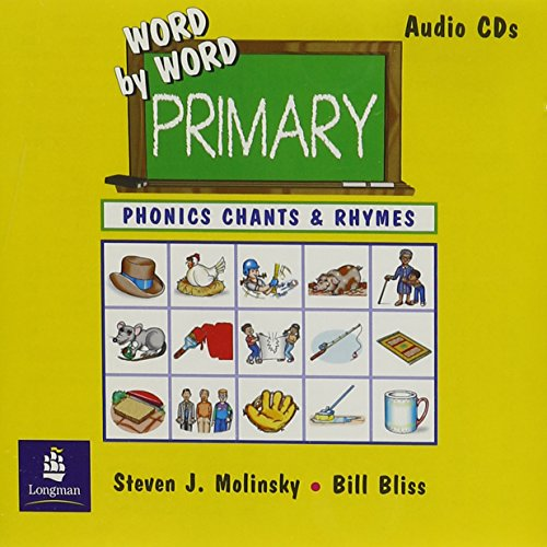 9780130405678: Word by Word Primary Phonics Picture Dictionary, Paperback Phonics Chants and Rhymes Audio CD