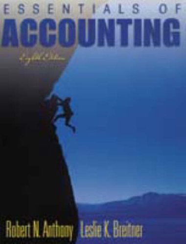 9780130406729: Essentials of Accounting (8th Edition)