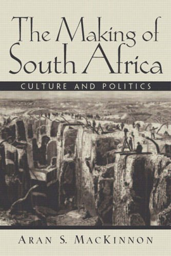 9780130406811: The Making of South Africa: Culture and Politics: Culture and Policies