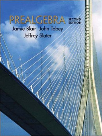 9780130407436: Prealgebra (2nd Edition)