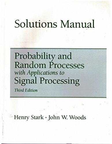 Solutions Manual: Henry Stark