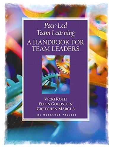 9780130408112: Peer-Led Team Learning: A Handbook for Team Leaders
