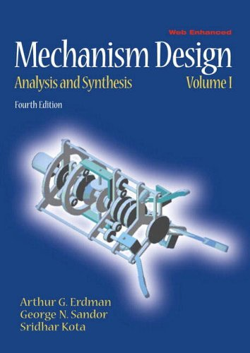 9780130408723: Mechanism Design: Analysis and Synthesis: 1