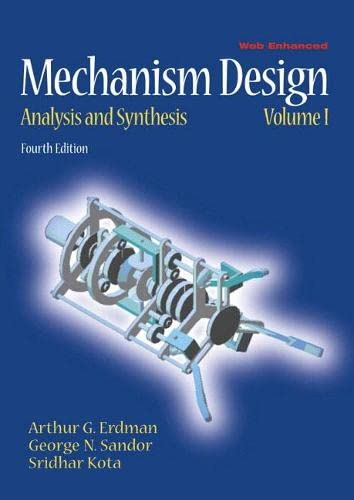 Mechanism Design: Analysis and Synthesis: Erdman, Arthur, Sandor,