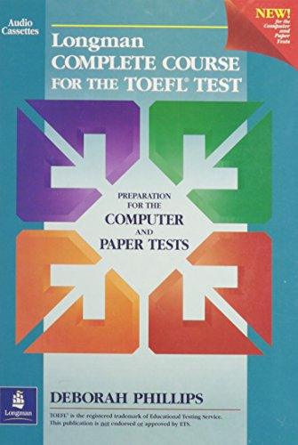 9780130408983: Longman Complete Course for the TOEFL Test: Audio Cassettes