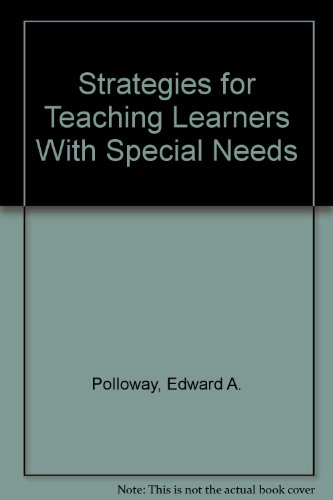 9780130409492: Strategies for Teaching Learners With Special Needs