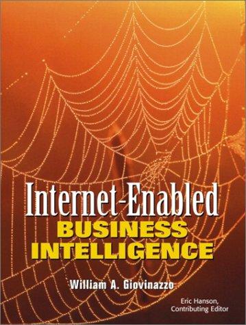9780130409515: Internet-Enabled Business Intelligence