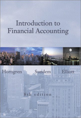 9780130410238: Introduction to Financial Accounting: AND Cisco Annual Report