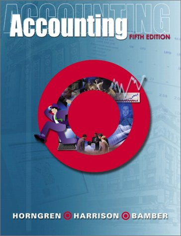 9780130410269: Accounting, Chapters 1-26 and Target Annual Report