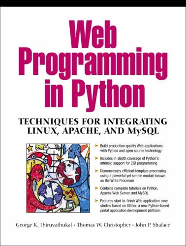 9780130410658: Web and Enterprise Applications Using Python and Linux