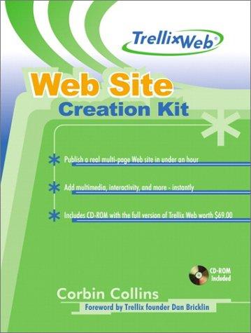9780130412065: TrellixWeb Web Site Creation Kit