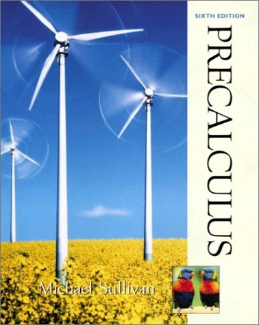 9780130412140: Precalculus (6th Edition)