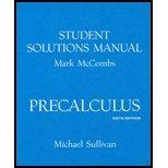 9780130412218: Precalculus Student Solution Manual
