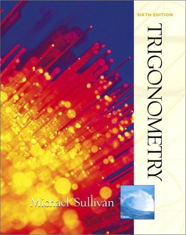 9780130412249: Trigonometry (6th Edition)