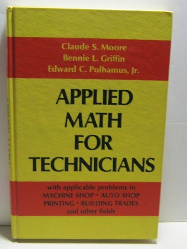 9780130412362: Applied math for technicians