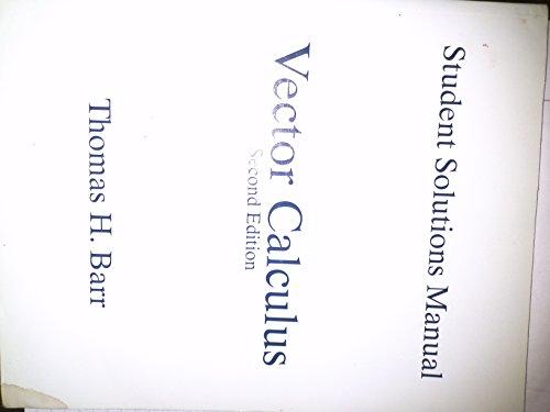 9780130412379: Vector Calculus