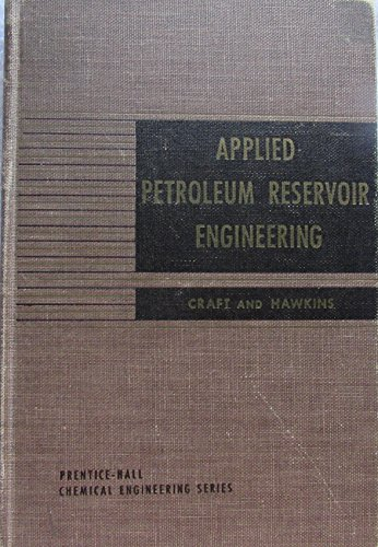 9780130412850: Applied Petroleum Reservoir Engineering