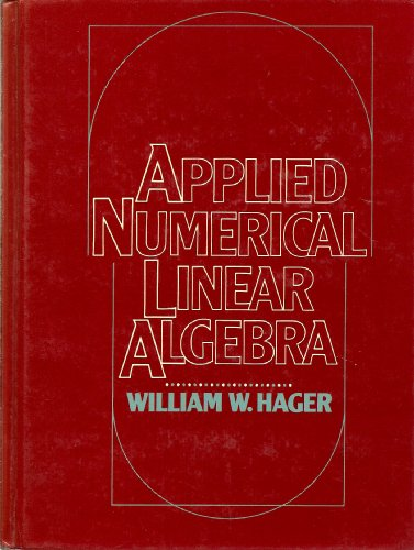 9780130412942: Applied Numerical Linear Algebra